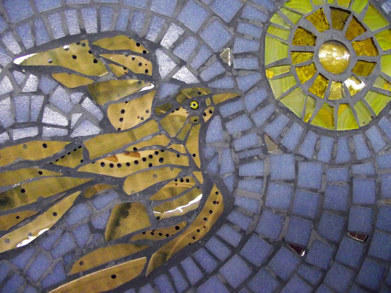 Mosaic murals mosaic workshop scotland for Mural mosaic